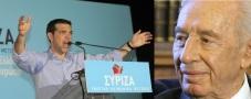 """Τσίπρας, ο φιλοσιωνιστής συναντιέται με τον Σιωνιστή δολοφόνο Σιμον Περες. Συγκεκριμένο το μύνημα προς τους ψηφοφόρους του. """"Αθωώστε τον Σιωνισμό"""""""